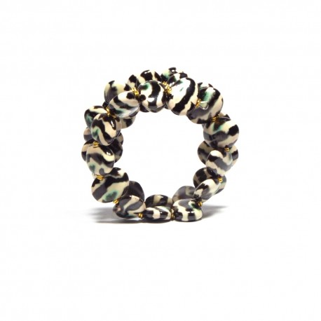 Shale MW Gold Zebra Bracelet