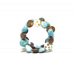 Bracelet Shale MW Ocean Blue