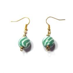 Mini Tango Amazonite Earrings