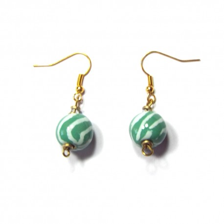 Mini Tango Amazonite Earrings
