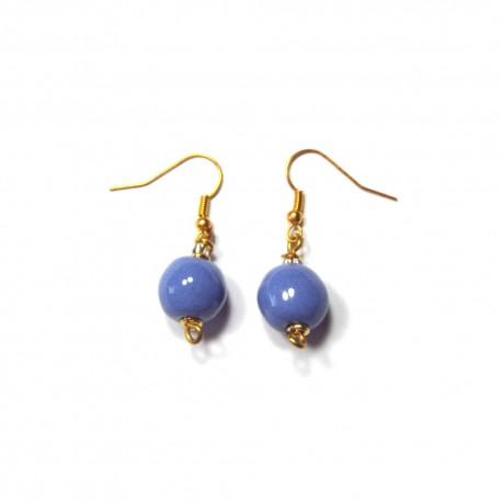 Boucles d'Oreilles Pitapat Kaleidoscope Scandinavia Blue