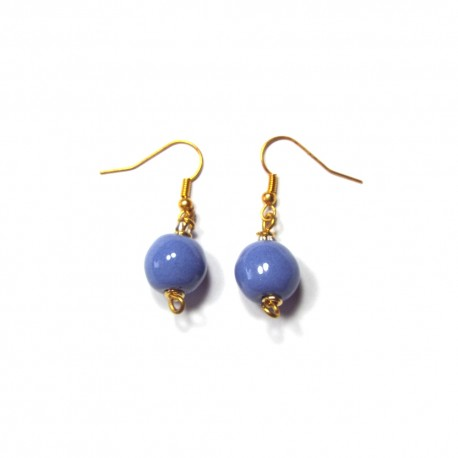 Pitapat Kaleidoscope Scandinavia Blue Earrings