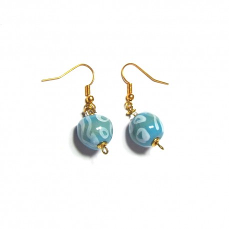 Shale MW Ocean Blue Earrings