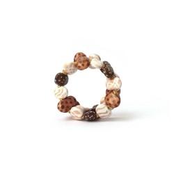 Mini Tango Safari Cheque Kazuri Bracelet