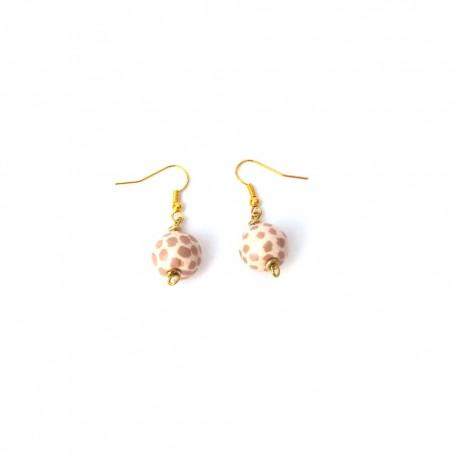 Mini Tango Safari Cheque Earrings