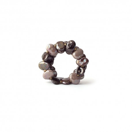 Bracelet Shale M/W Café crème