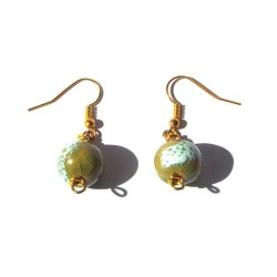Summer Green Earrings