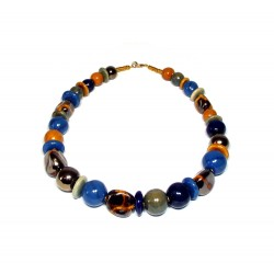 Shangani Lapis Necklace