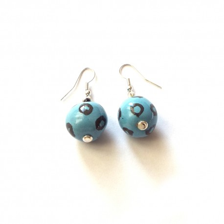 Plain Rounds Upinde Earrings