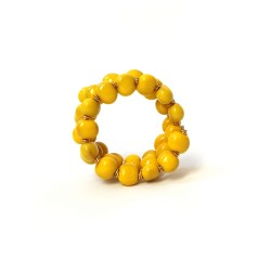 Kikoy 2 Lemon Mix Bracelet