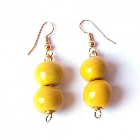 Doria Lemon Earrings