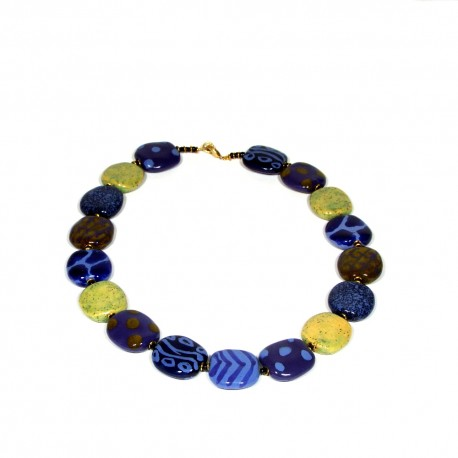 Pitapat Kaleidoscope Necklace Scandinavia Blue