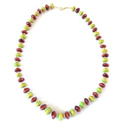 Kazuri Necklace -Bongo Apple