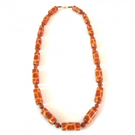 Bamboo Giraffe Necklace