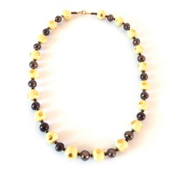 Collier Doria W/G Vivid Yellow