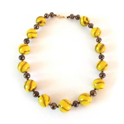 Kazuri Necklace - Doria Lemon