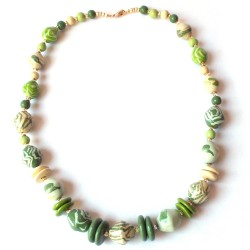 Dreamscape Soft Mint Necklace