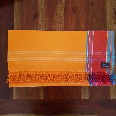 Classique orange kikoy