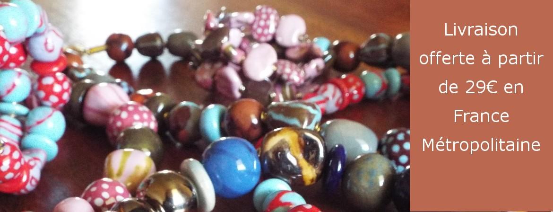 Découvrez notre sélection de bracelets Kazuri