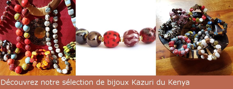 Cliquez pour découvrir notre sélection de colliers Kazuri