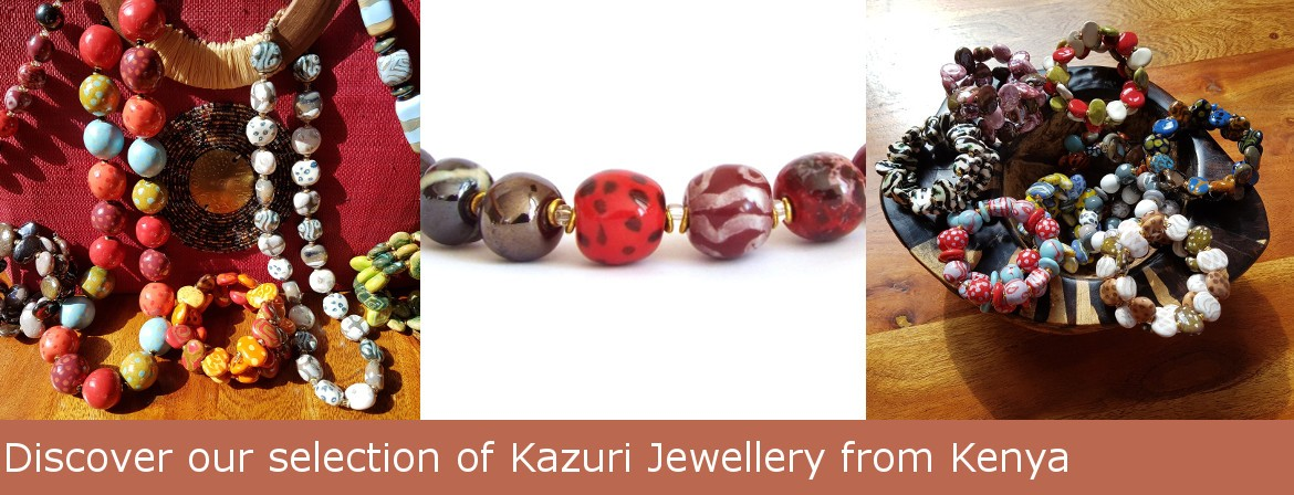 Click to discover our selection of Kazuri Necklaces
